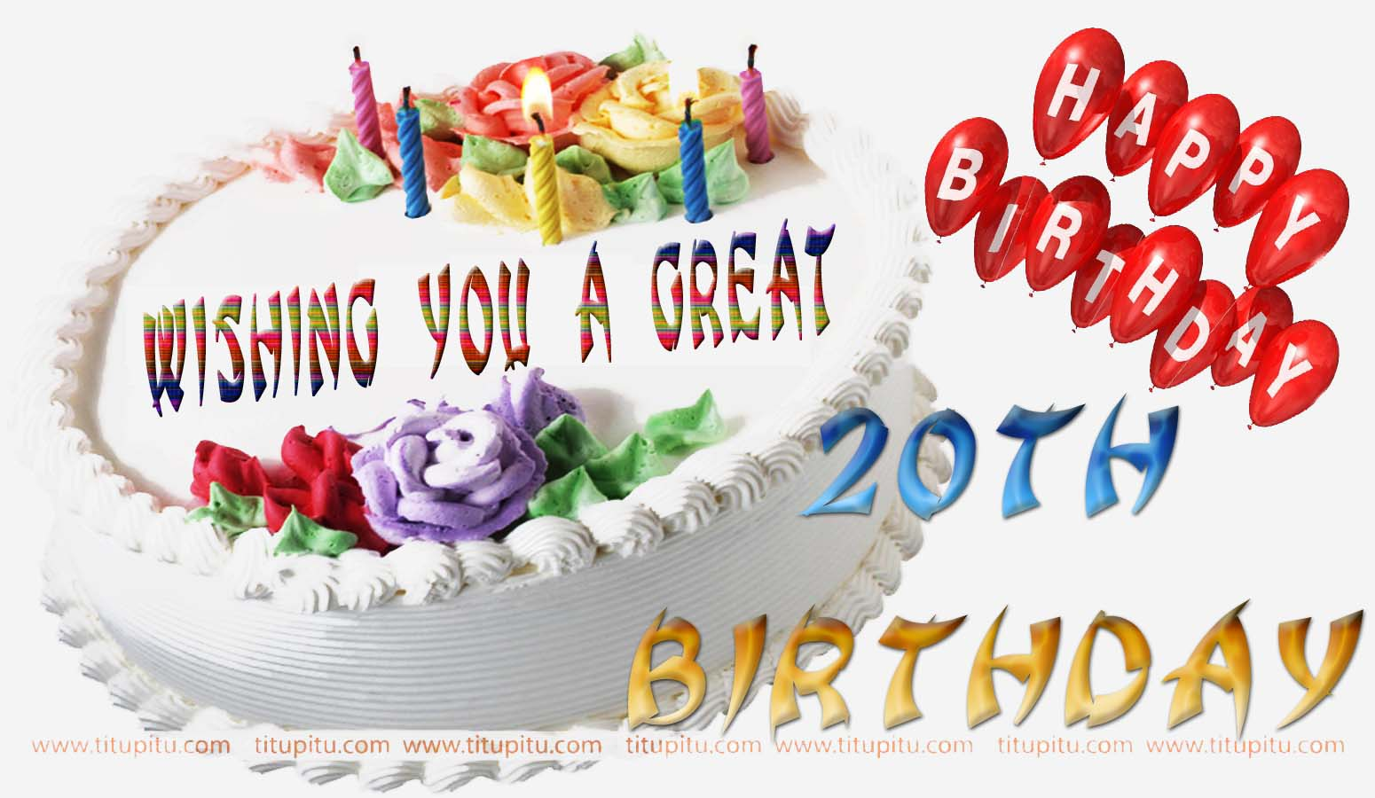 20th birthday wishes wallpapers wishesjpg 1550x900