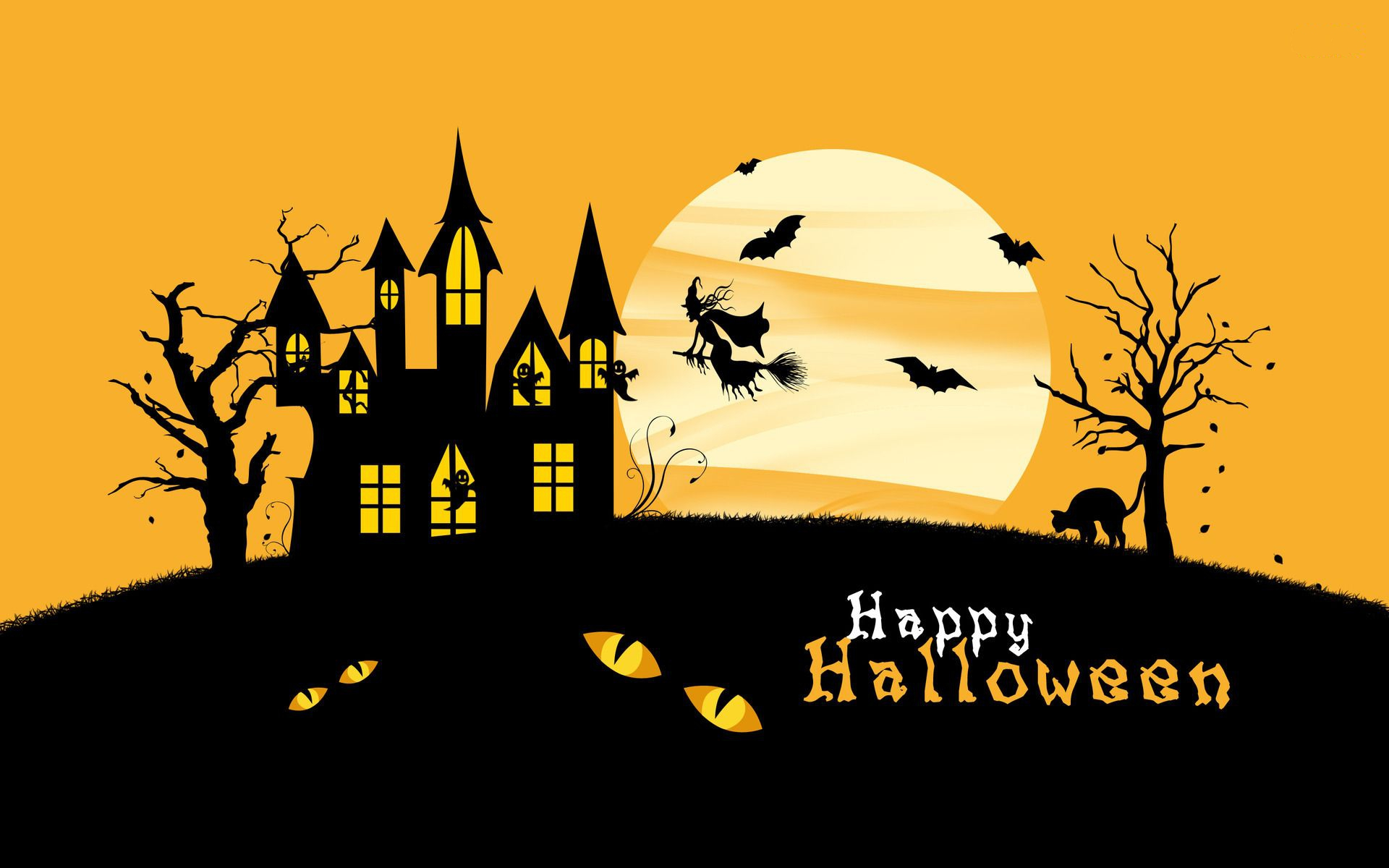 Download Hello Kitty Halloween Wallpapers 1920x1200