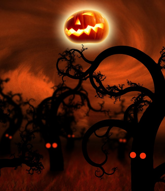 Halloween widescreen wallpaper for desktop wallpapersafari - Free widescreen halloween wallpaper ...