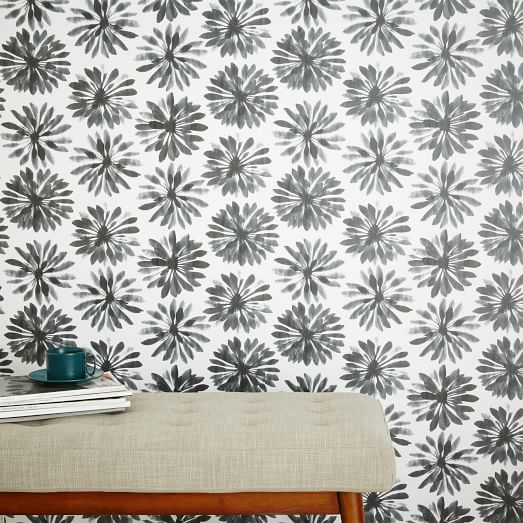 Chasing Paper Wall Panels Daisy Gray west elm 523x523