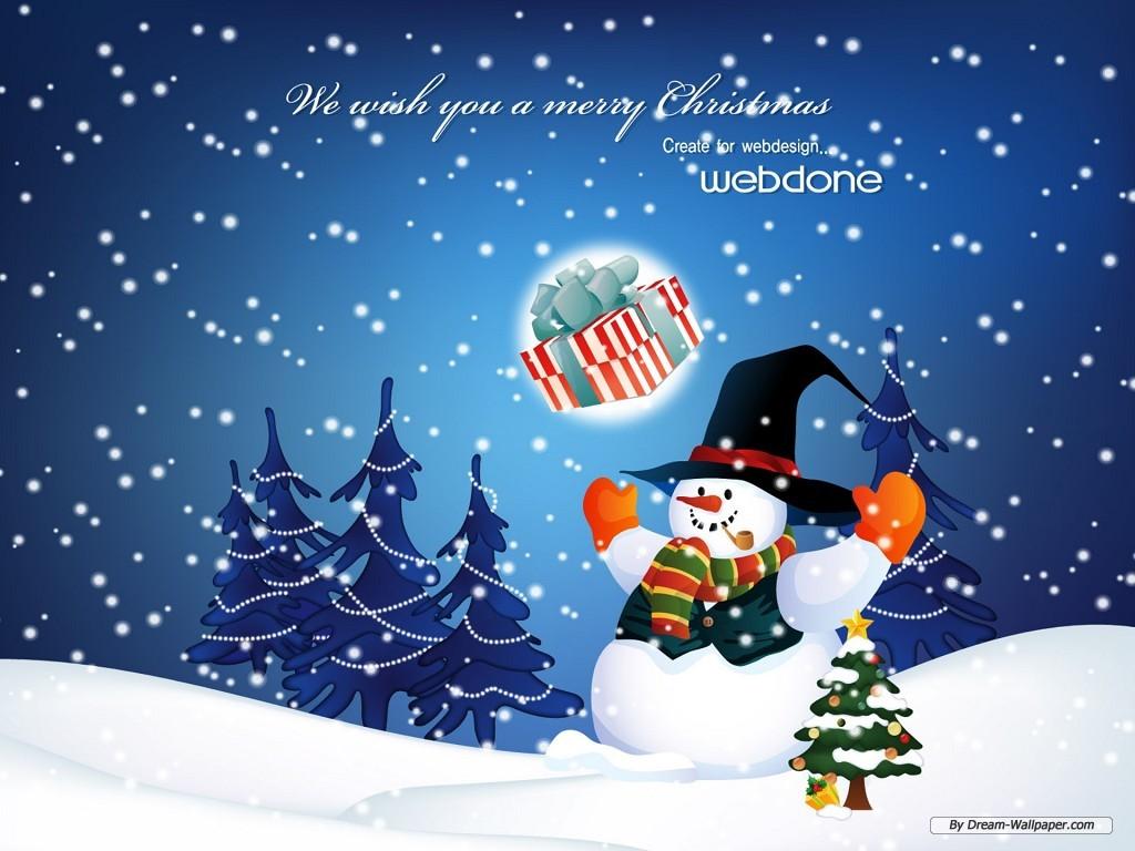 48] Christmas Desktop Theme Wallpaper on WallpaperSafari 1024x768
