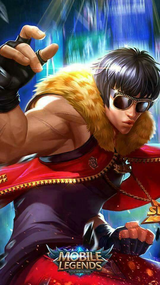 Mobile legends   Chou Hiphop Boy Mobile Legends Bang Bang 539x960