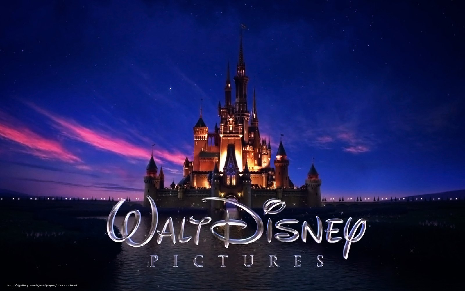 Download wallpaper walt disney logo castle desktop wallpaper in 1600x1000