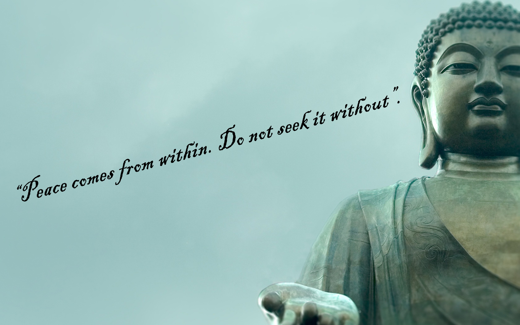 Buddha Quotes Wallpapers QuotesGram 1680x1050