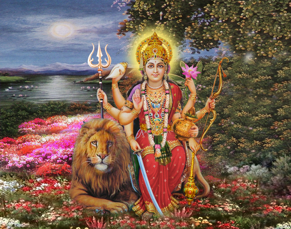 Durga Lord Maa Durga photos god Maa Durga cute wallpapers Maa Durga 1000x786