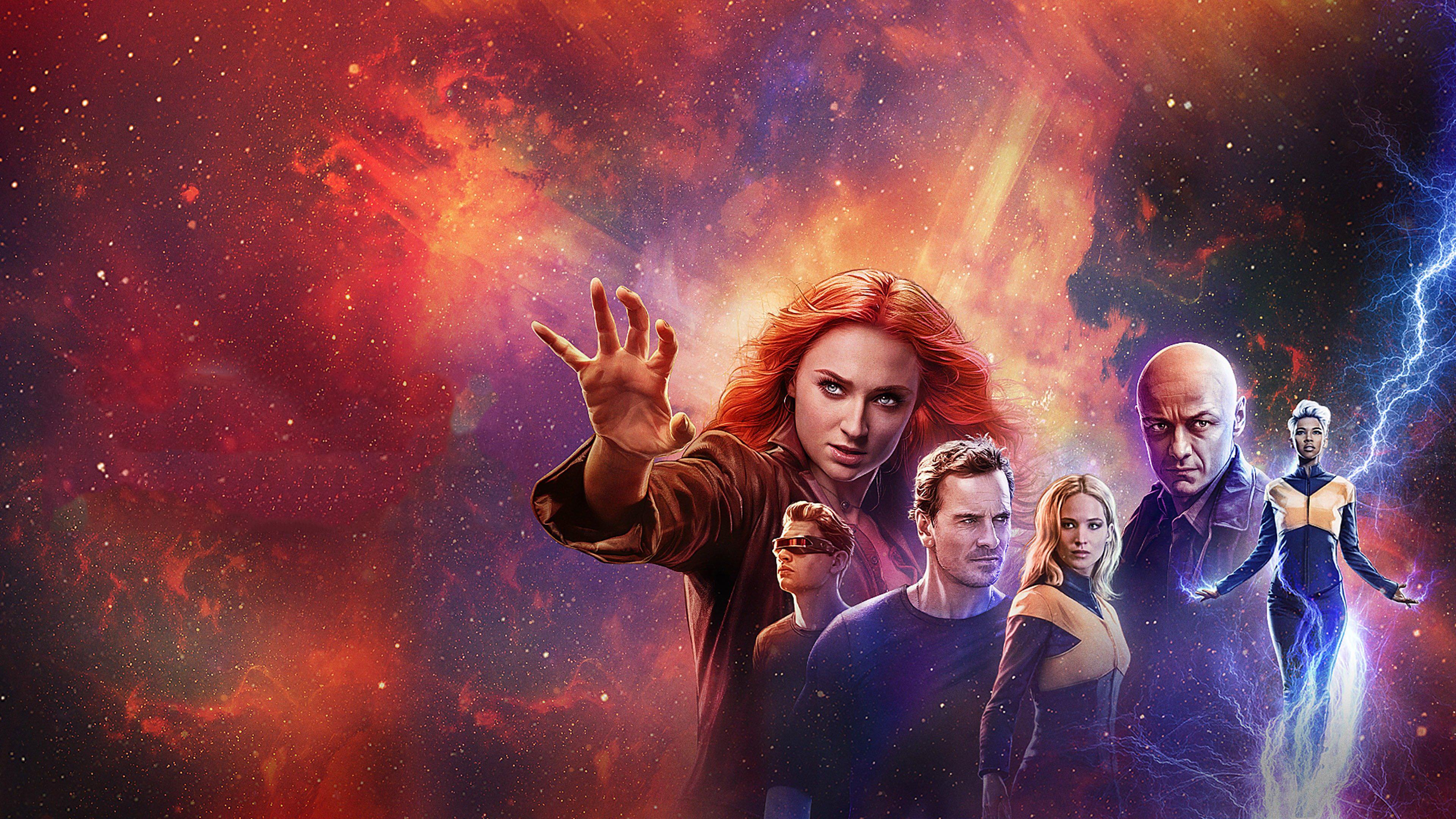 Wallpaper 4k X Men Dark Phoenix 2019 Poster 2019 movies wallpapers 3840x2160