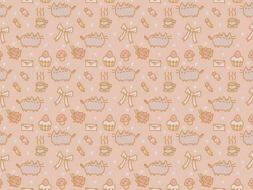 Pusheen Cat Iphone Wallpaper Pusheen cute wallpaper 500x375