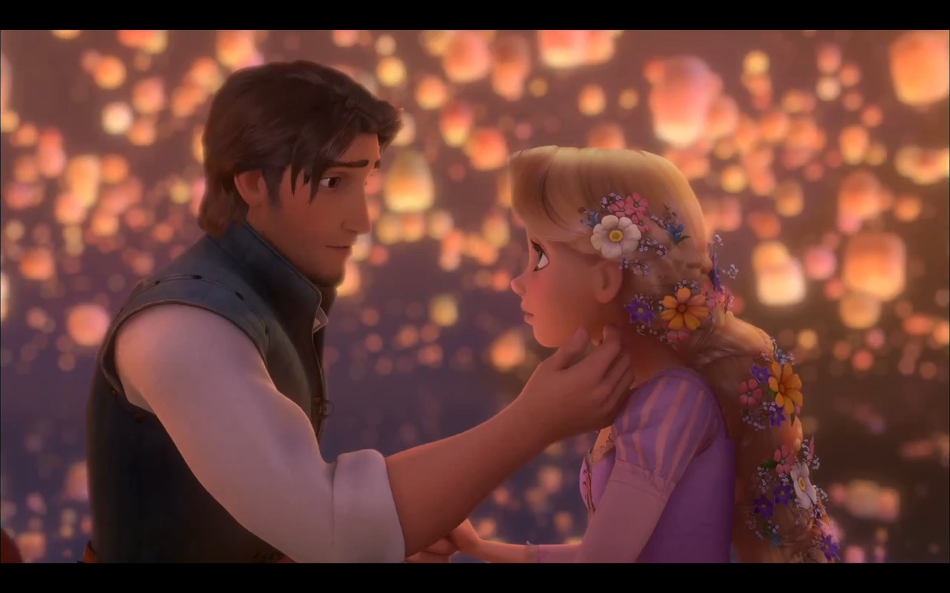 Tangled Rapunzel and Flynn 1920x1200