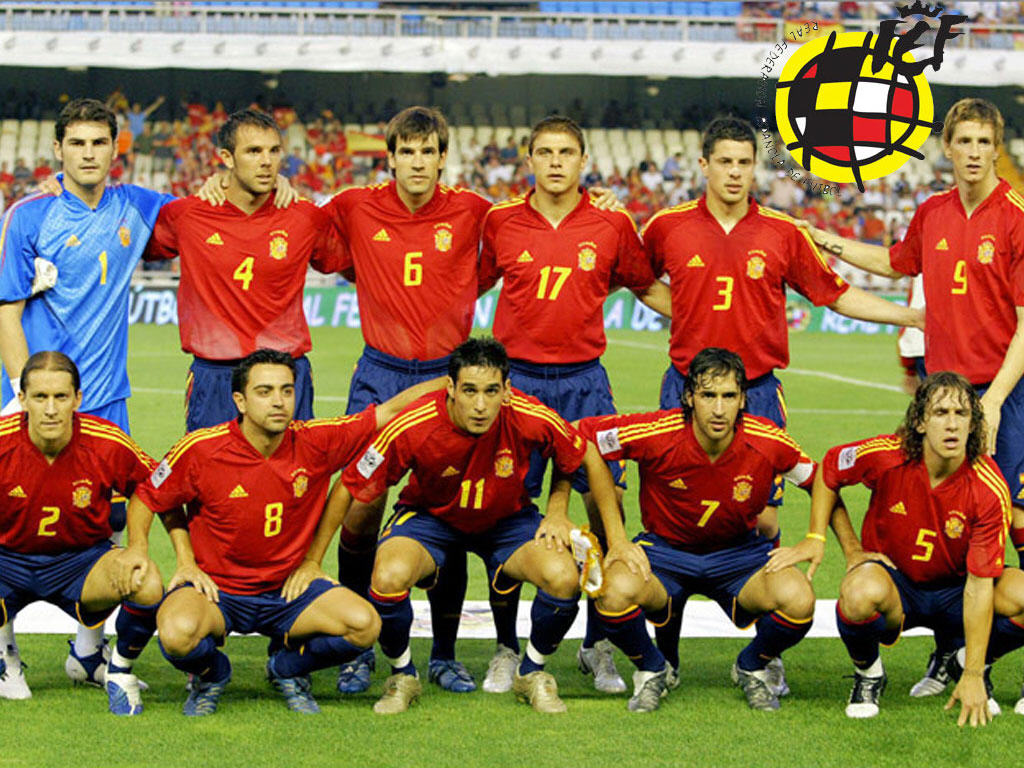 Spain National Football Team wallpapers Sports HQ Spain 1024x768