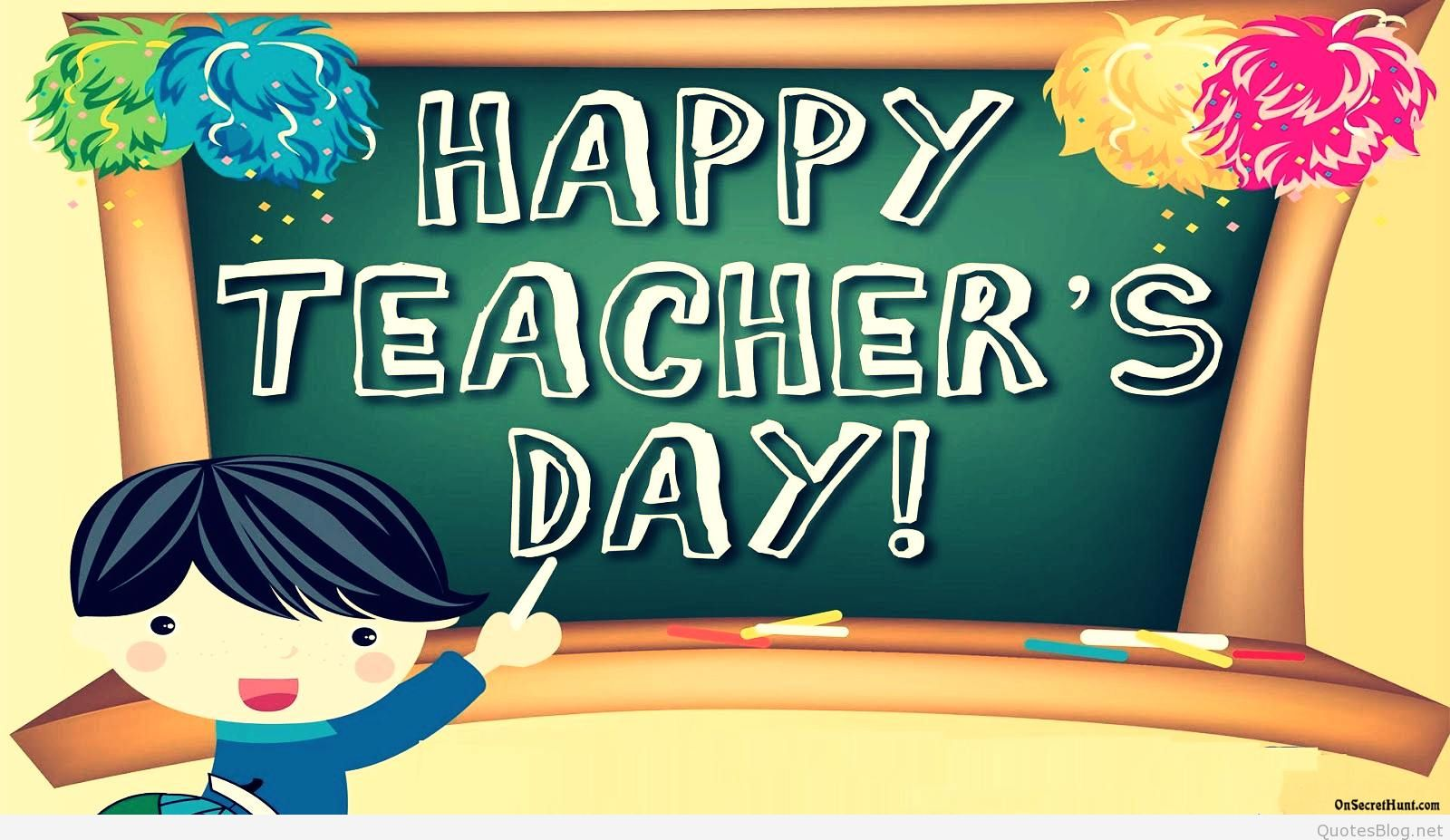 Happy Teachers Day Pictures Messages Cards Wallpapers Quotes 1600x927