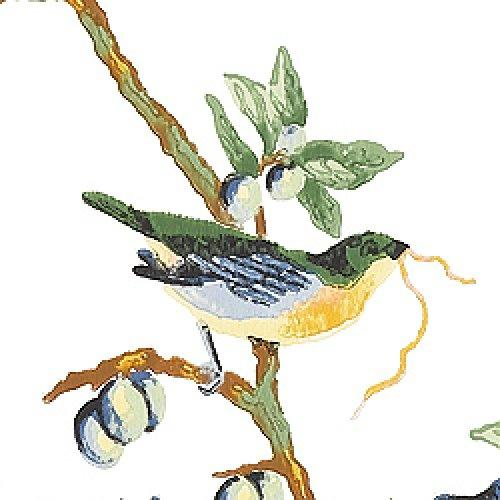 Thibaut Spring Lake Little Bird Wallpaper Alexander InteriorsDesigner 500x500