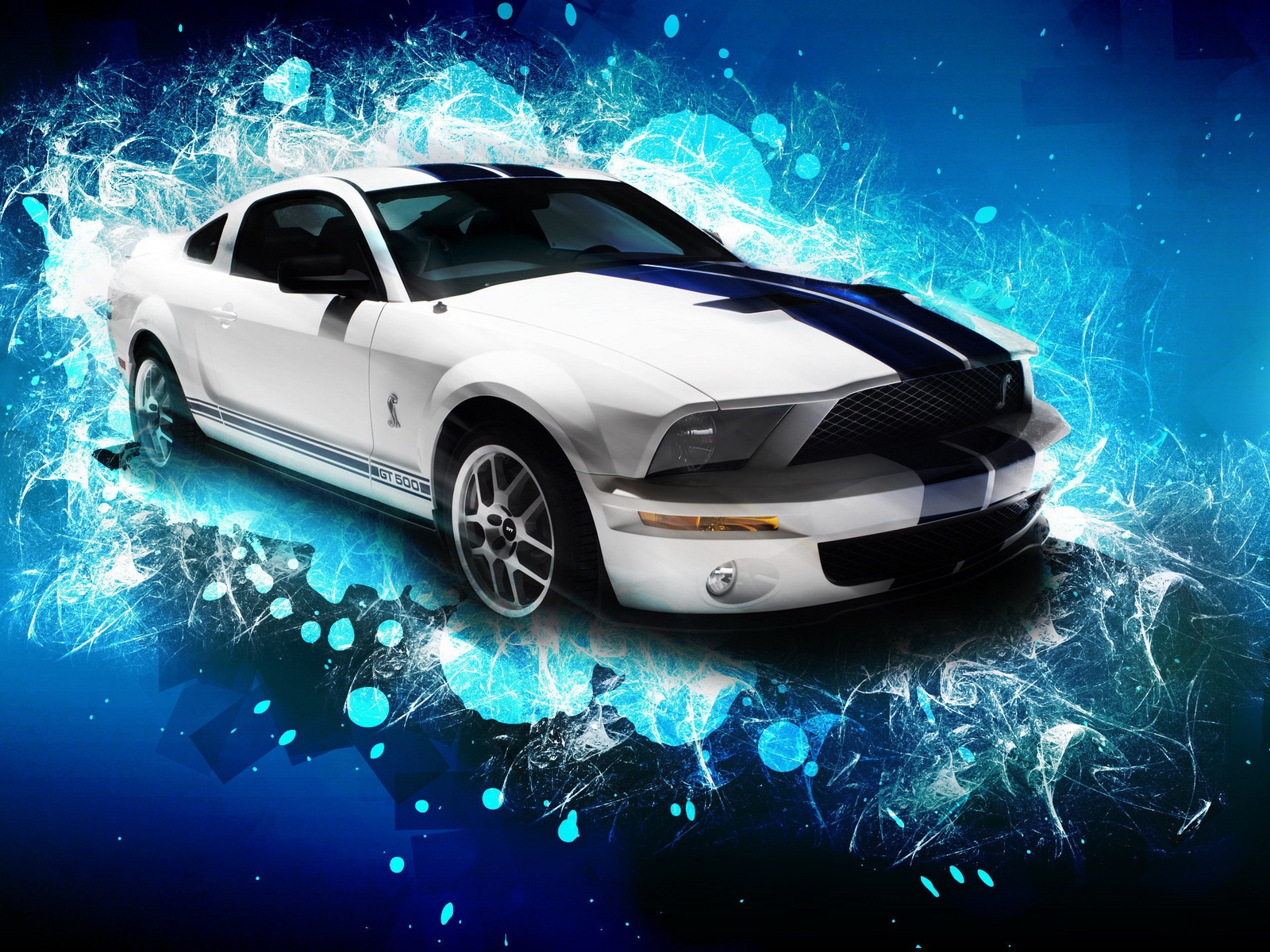 Ford Mustang GT500 Sports Car computer desktop wallpapers 1600x1200