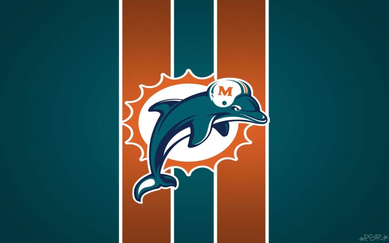 Miami Dolphins wallpaper HD background Miami Dolphins wallpapers 1280x800