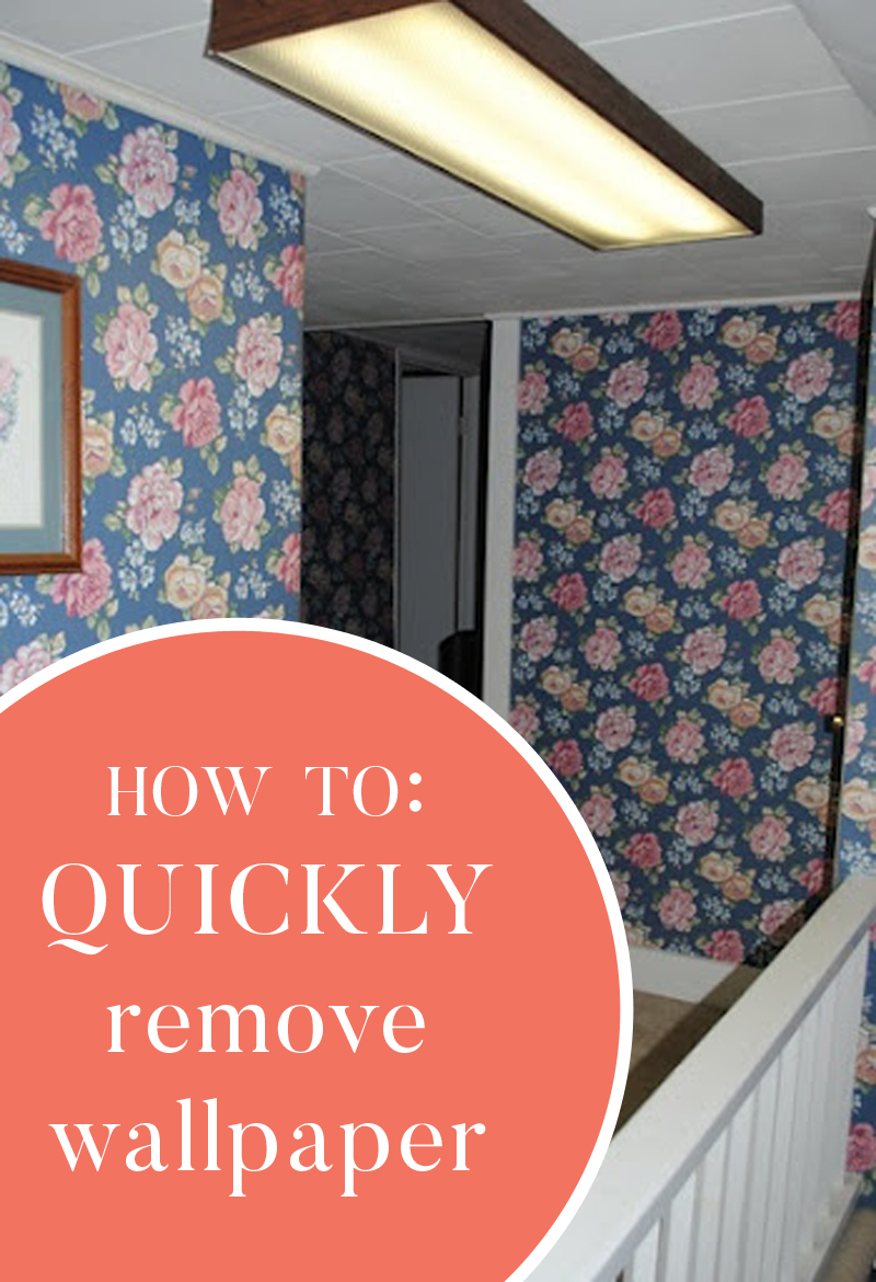 How to quickly remove wallpaper 800x1170