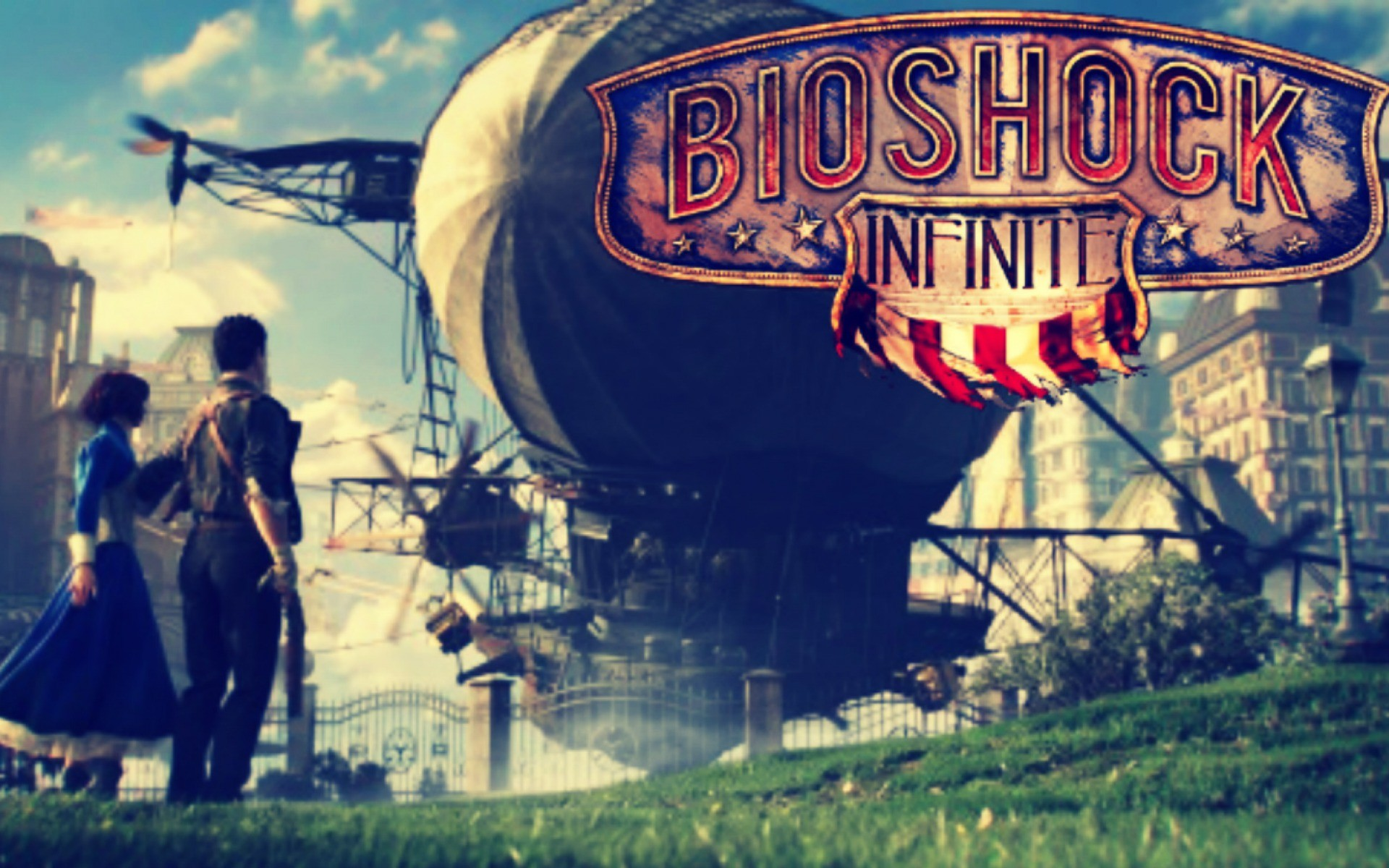 Bioshock Infinite Logo HD Wallpaper Background Images 1920x1200