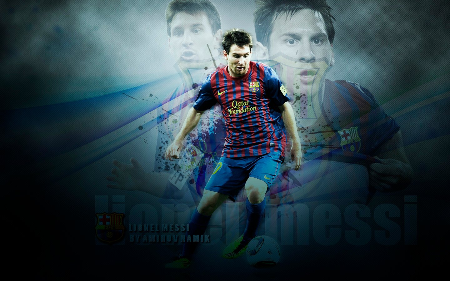 Lionel Messi Latest HD Wallpapers 2012 2013 All About HD Wallpapers 1440x900