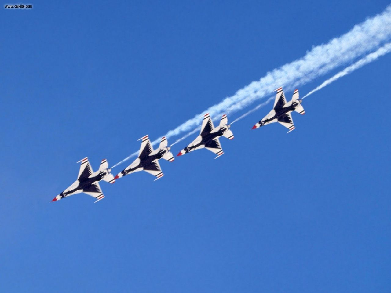 Aircraft Planes Follow The Leader Thunderbirds picture 1280x960