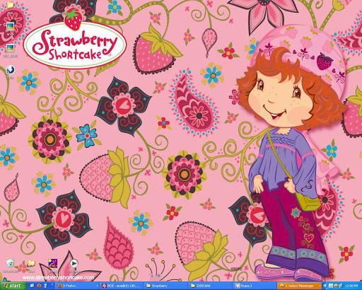 strawberry shortcake desktop wallpaper 512x410