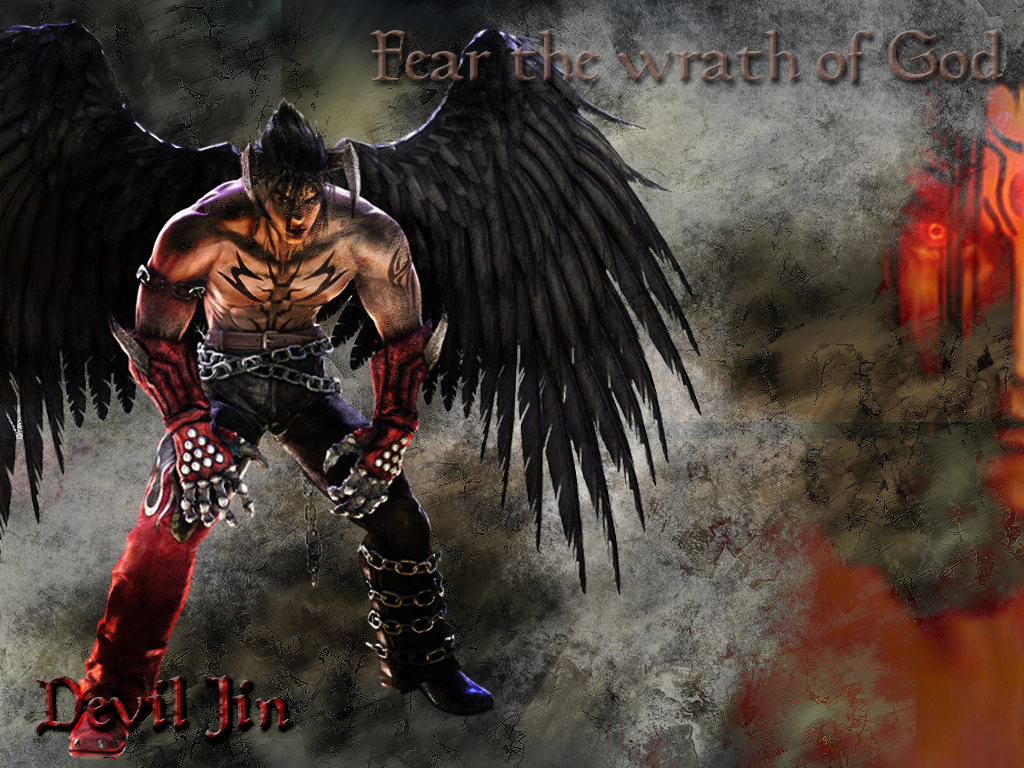 Free Download Devil Jin Kazama Tekken Page 4 1024x768 For Your