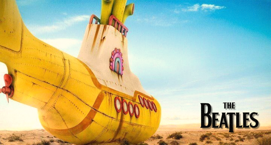 Yellow Submarine Wallpaper by Pmag1 900x483