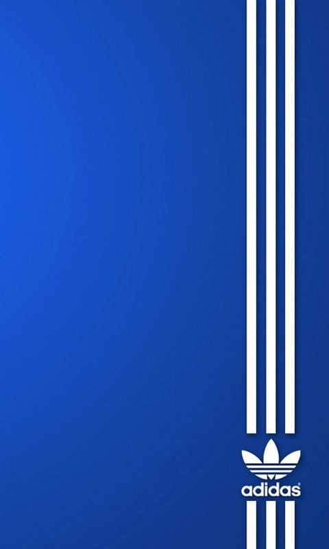 Adidas Blue Samsung Mobile Wallpapers 480x800 Hd Wallpaper Downloads 480x800