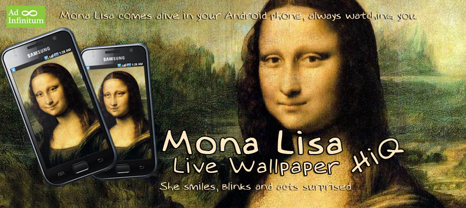 Mona Lisa Live Wallpaper HiQ 940x420