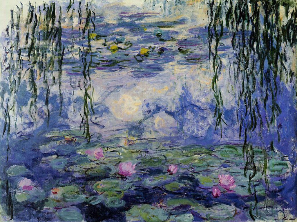 Displaying 15 Images For Monet Water Lilies Wallpaper 1024x768