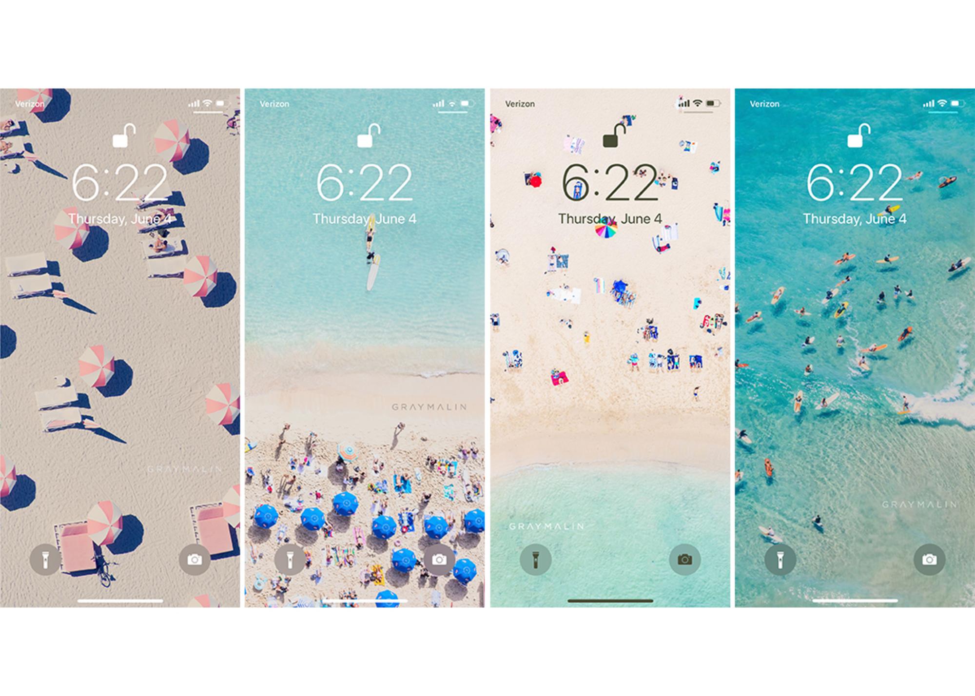 Summer Phone Backgrounds from Gray Malin Gray Malin 2000x1428