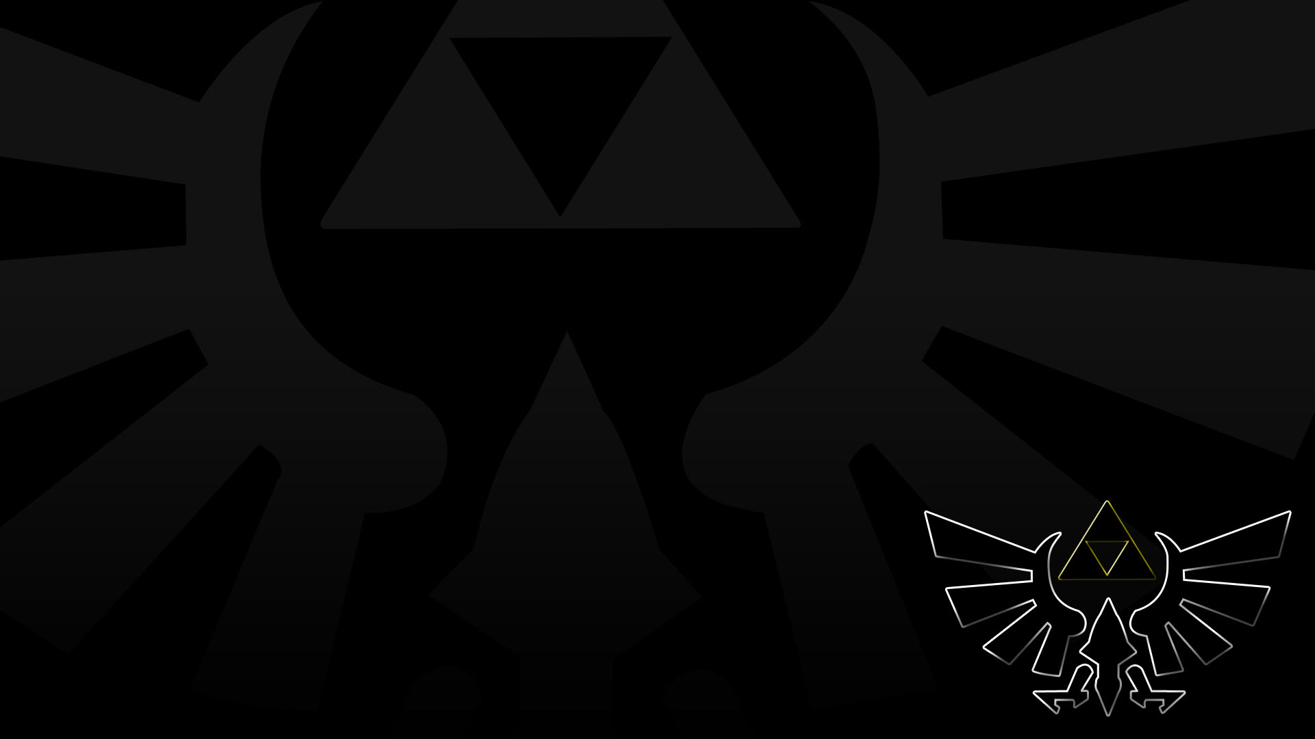 12 Triforce HD Wallpapers | Backgrounds - Wallpaper Abyss