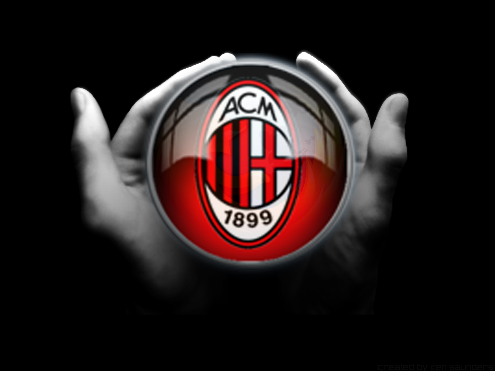 AC Milan on Hands 1600x1200