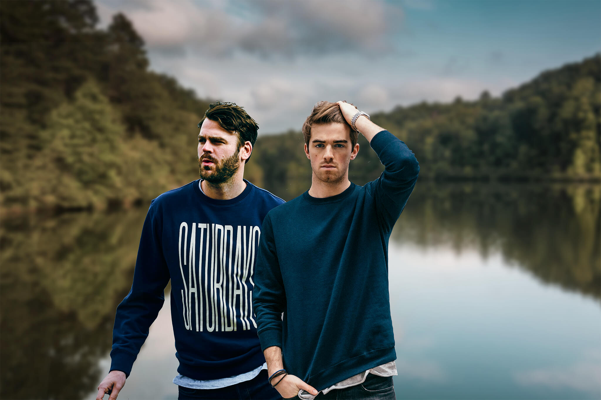16 The Chainsmokers HD Wallpapers Background Images   Wallpaper 2048x1365