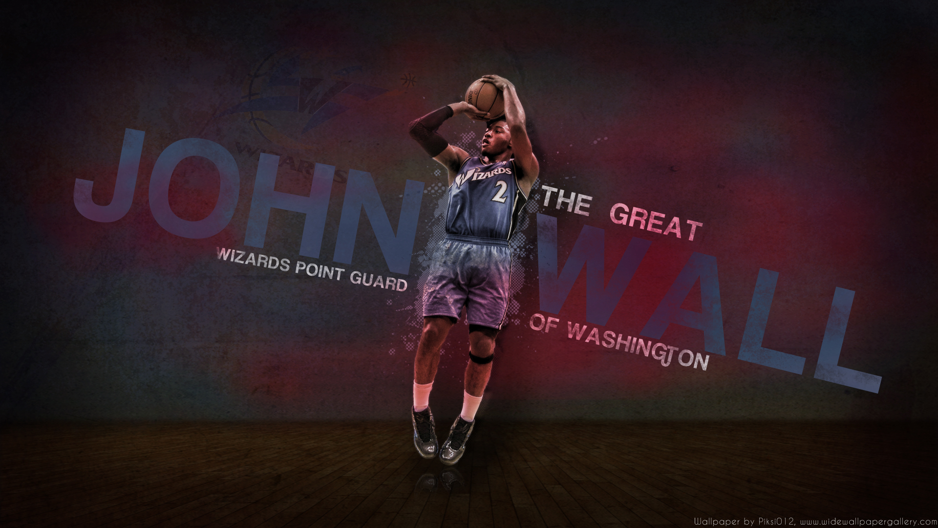 John Wall Wizards iPhone Wallpapers 1920x1080
