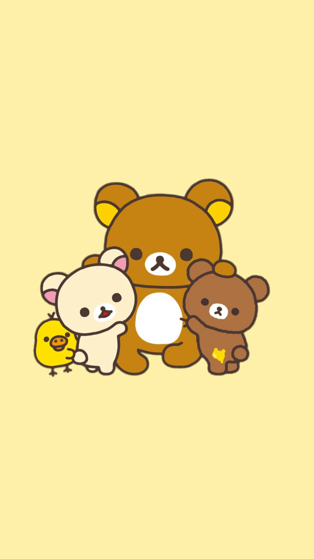 Rilakkuma Iphone Wallpaper Rilakuma wallpapers Rilakkuma 1080x1920