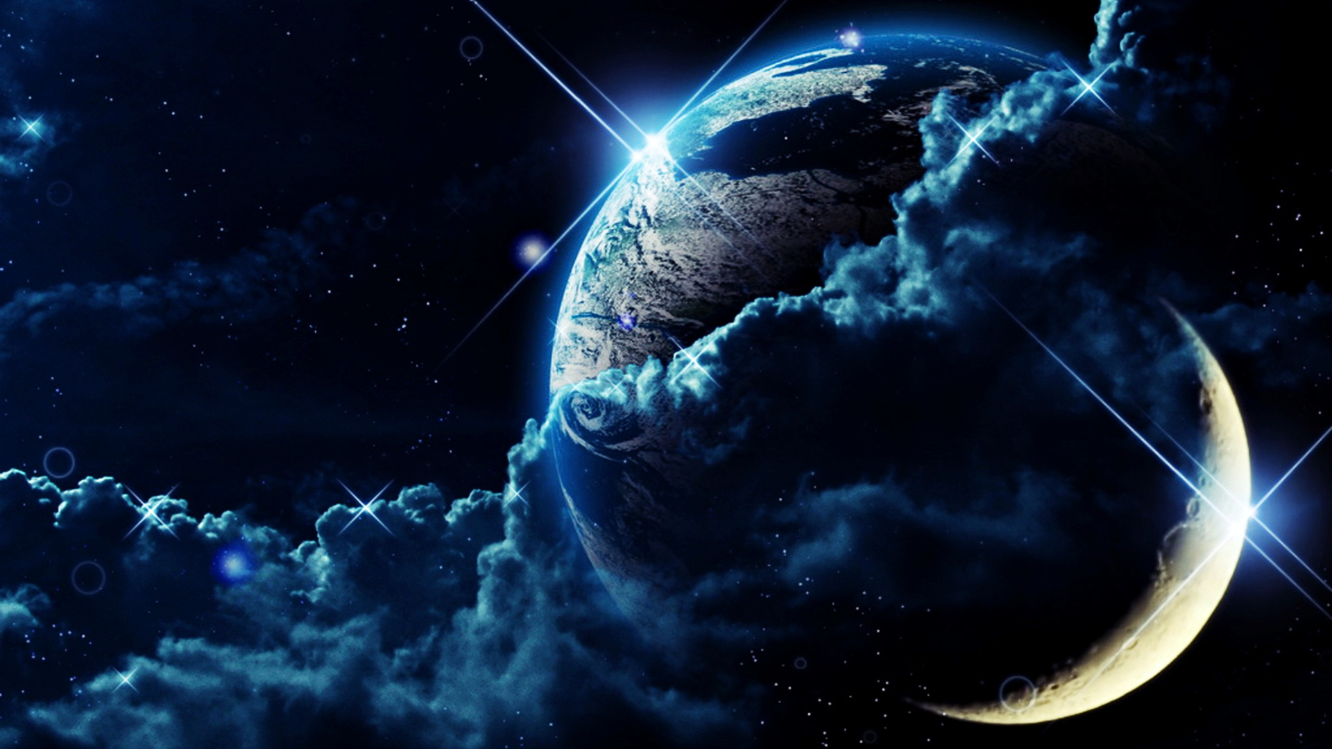 48 Earth Wallpaper Hd 1080p On Wallpapersafari