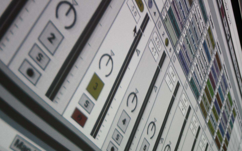 Ableton Push Wallpaper