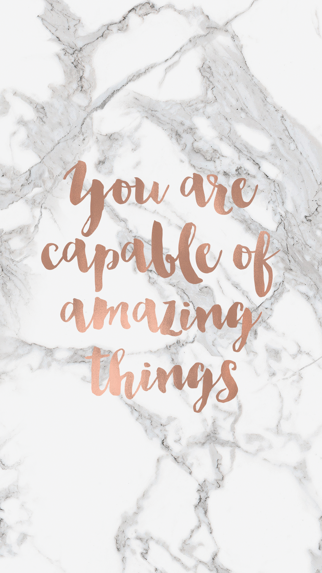 You Are Capable Quote Phone Background Pretty quotes Quote 1080x1920