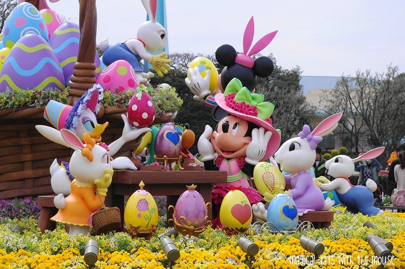Magical Days with the Mouse Disneys Easter Wonderland at Tokyo 800x531