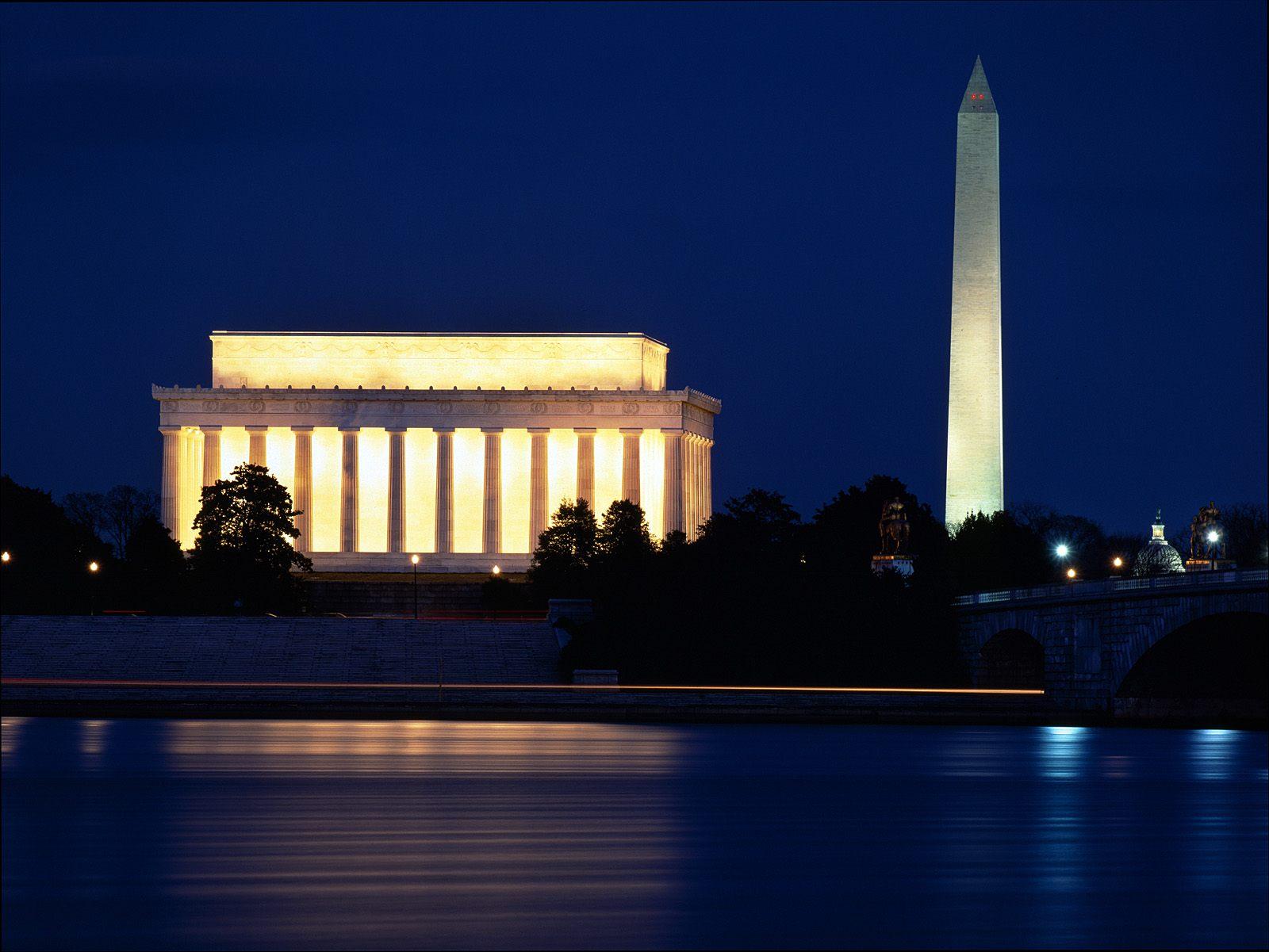Memorial and the Washington Monument Washington DC Arhuncom 1600x1201