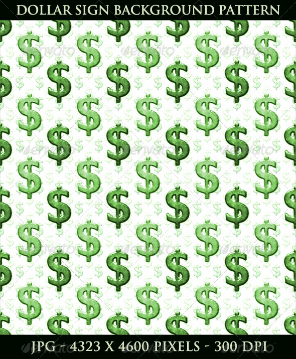 Dollar Sign Background Pattern   Business Backgrounds 590x716