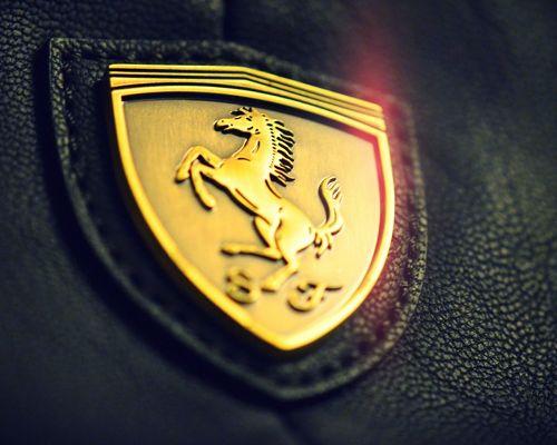 Top Brand Images Golden Ferrari Logo is Decent and Impressive 500x400