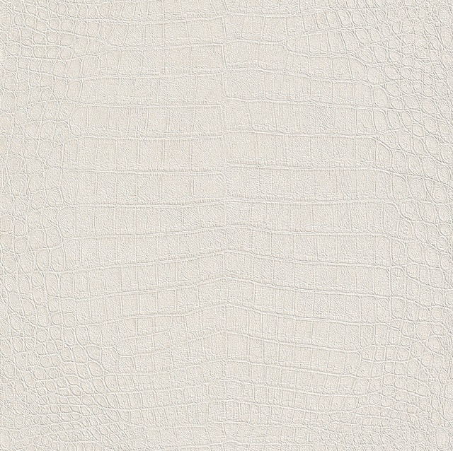 White Crocodile Skin Embossed Vinyl Wall Covering   Wallpaper   by 640x638