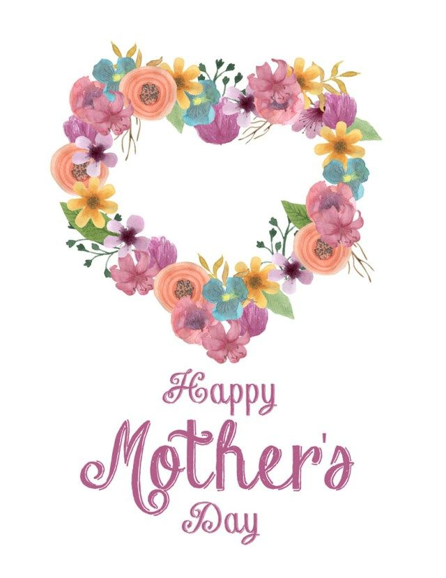 A Mothers Day with Printables Happy mothers day mom 640x829