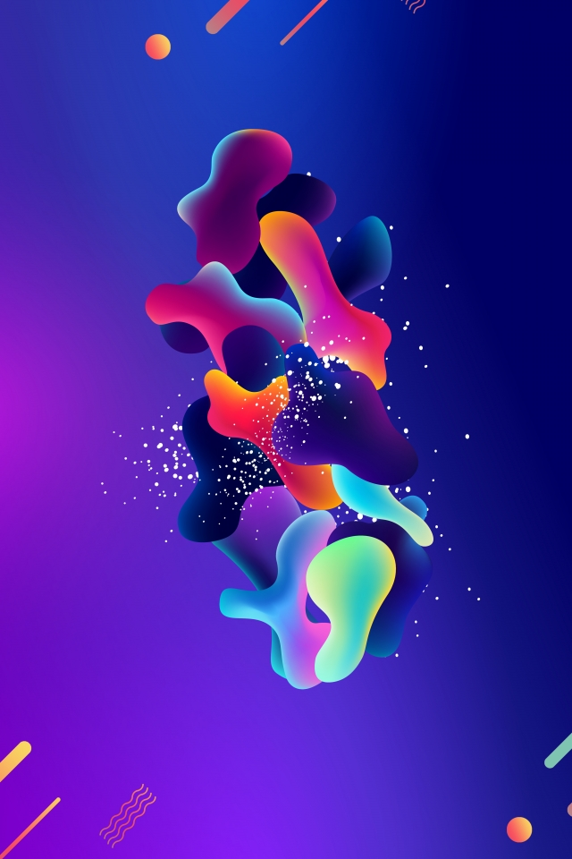 Liquid Gradient Fluid Fluid Gradient Background Liquid Abstract 640x960