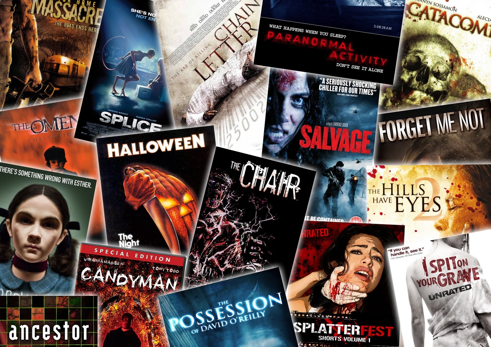 horror movie icons collage icon film which brief project wallpapersafari