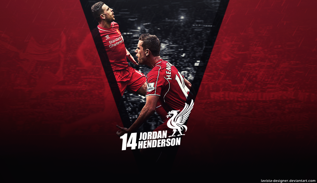 Jordan Henderson   2015 Wallpaper by LaVista Designer on 1024x592