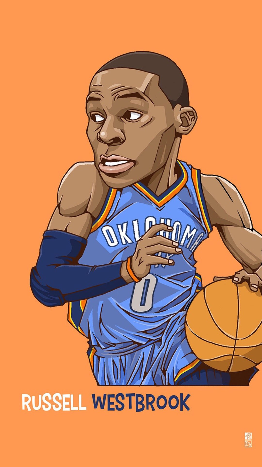 Tlcharger Russell Westbrook 1080 x 1920 Wallpapers 1080x1920