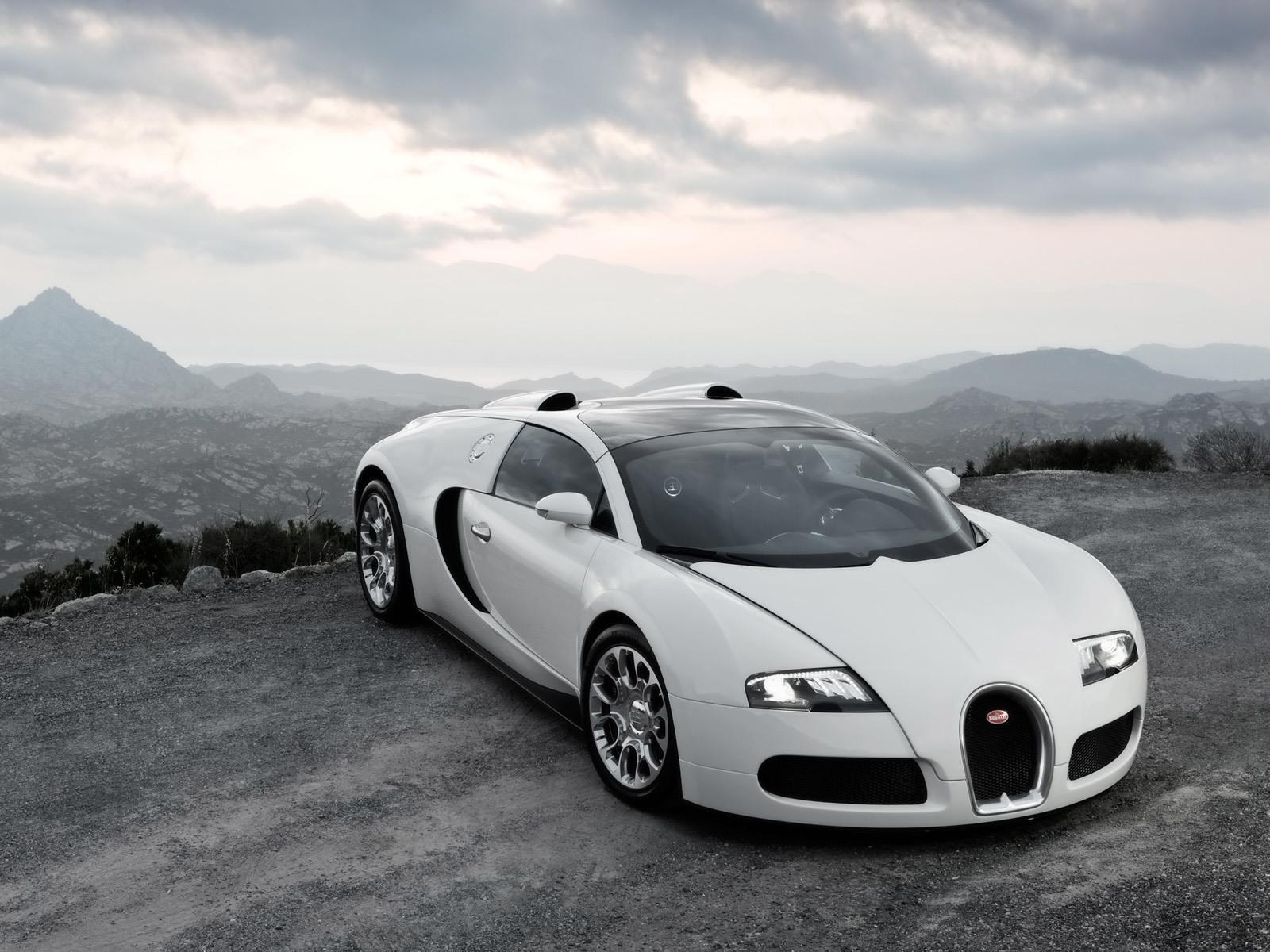 2009 Bugatti Veyron desktop wallpaper 1600x1200