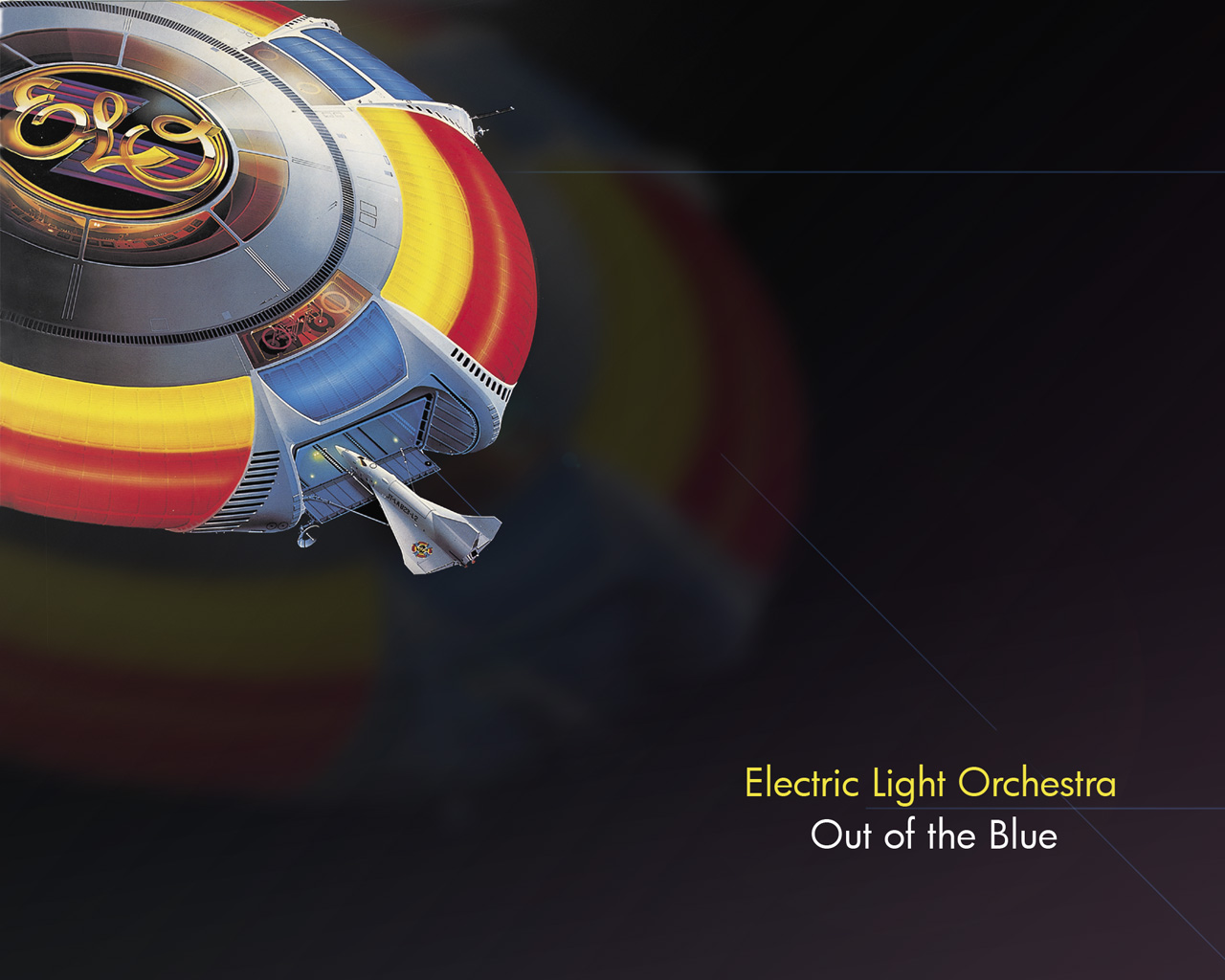 ELO  Out of the Blue Wallpaper by Kotori 1280x1024