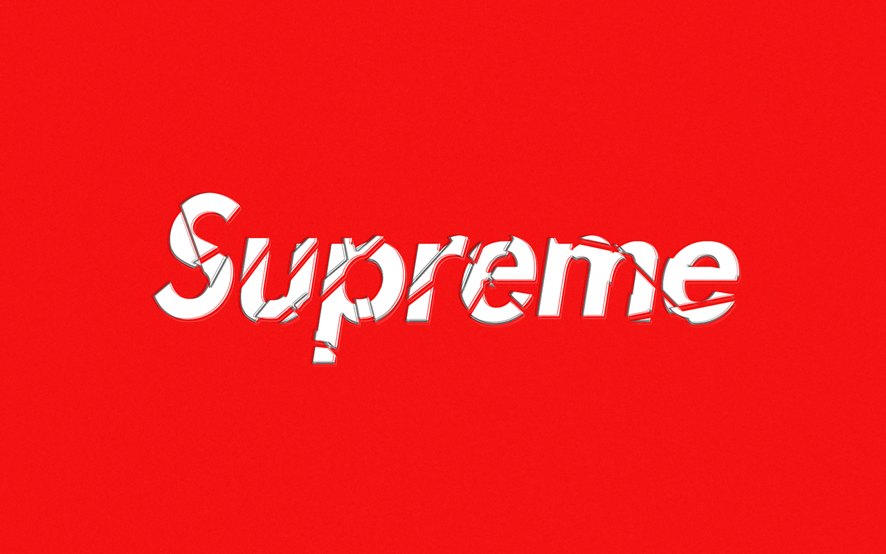 Supreme wallpaper wallpapersafari for Fond ecran supreme