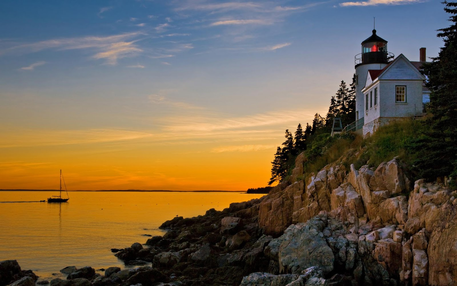 Acadia National Park Maine Full HD Desktop Wallpapers 1080p 1600x1000